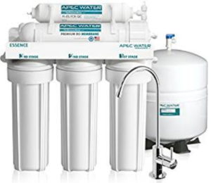 APEC reverse osmosis water filtration system for home